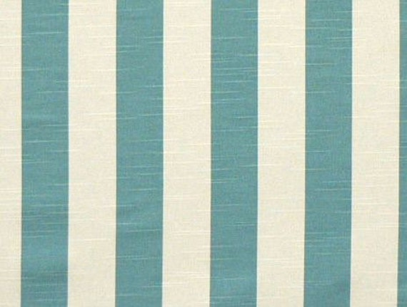 aqua light blue curtain panels aqua stripe by. Black Bedroom Furniture Sets. Home Design Ideas