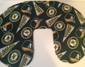 Oakland A's Boppy Cover