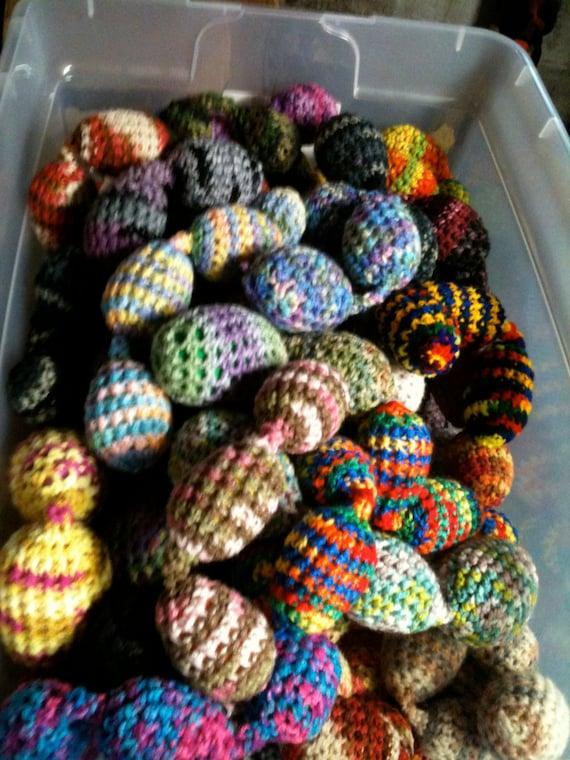 String - O - Eggs Ferret Toy