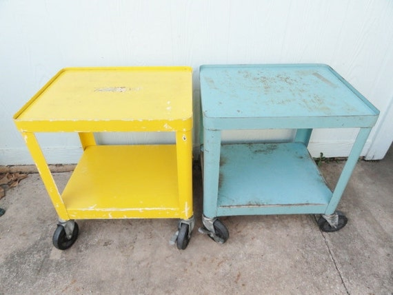 Cart Side Cart End Table Side Table