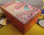 Experience Strength and Hope  12 Step Sobriety AA Recovery Themed Chip or Prayer  Box