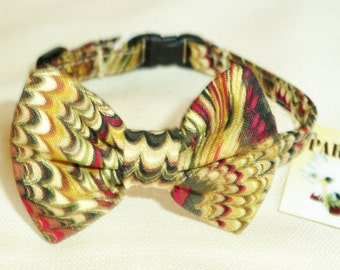 Cat or Small Dog Bow Tie Collar