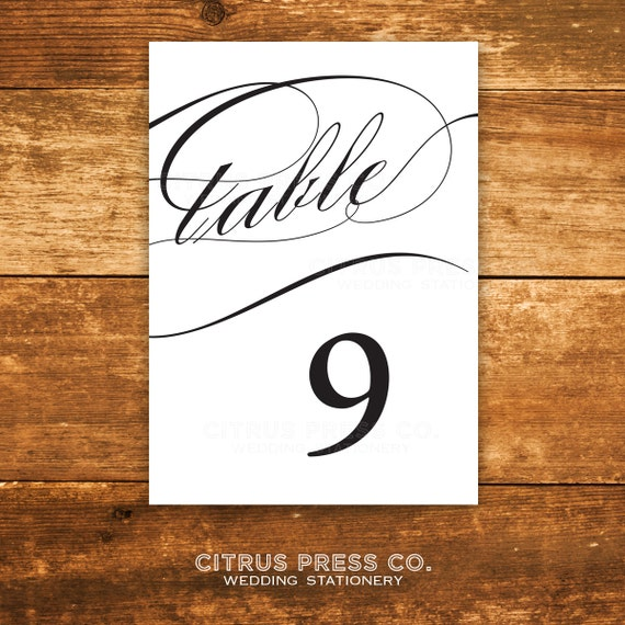Items Similar To 4x6 Printable Caligraphy Table Numbers. Graduation Announcement Vs Invitation. Impressive Sample Marketing Resume. Free Employee Schedule Template. Printable Bar Graph Template. Marketing Calendar Template 2017. Sample Letter Of Recommendation For Graduate School From Supervisor. Tri Fold Template Google Docs. Daily Activity Log Template Excel