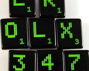 L33T Scrabble Letters - Choose your letters and quantity