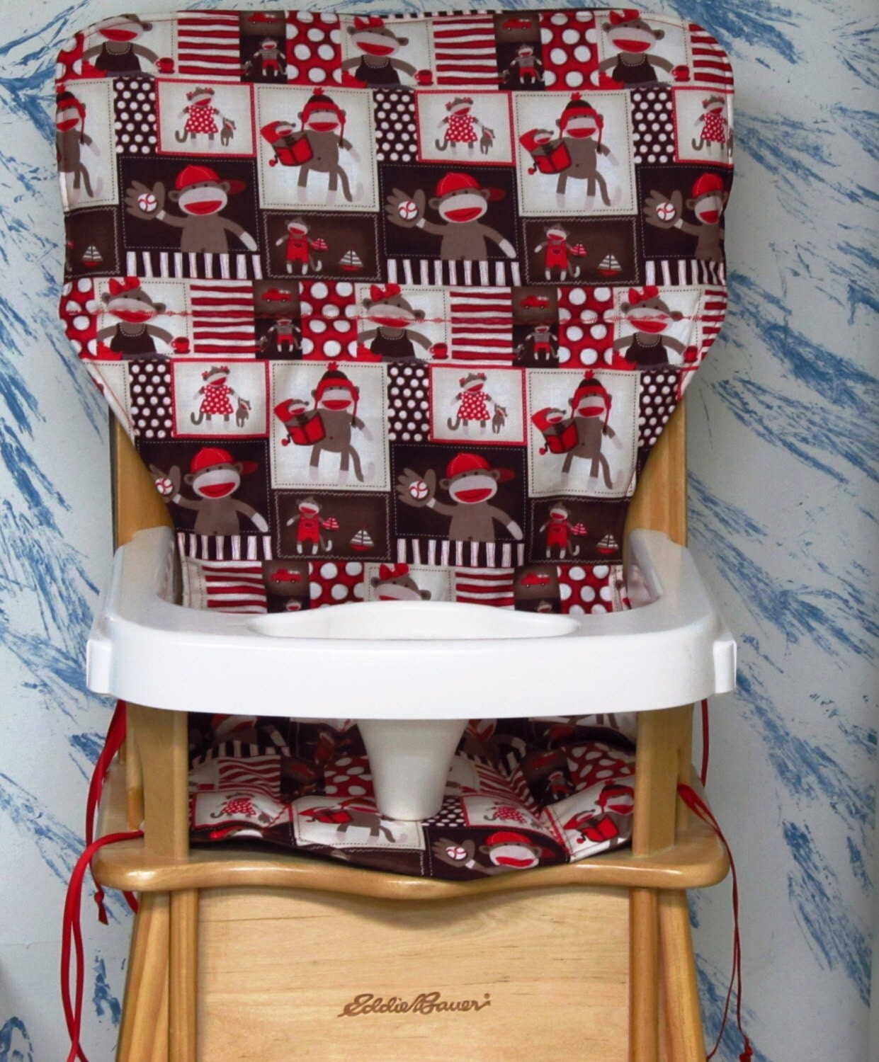 Jenny Lind Eddie Bauer High Chair Seat Cover Pad By
