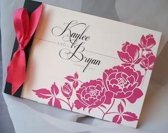 Precious Peony Booklet Wedding Invitation... Sample