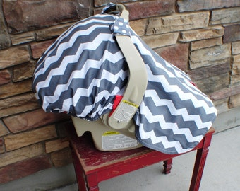 Fitted back for car seat cover / add a fitted back