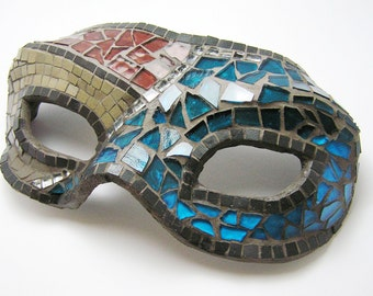 Mosaic decorative mask - home decor