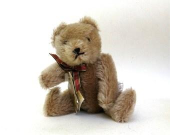 vintage mohair hermann teddy  ...   made in west germany vintage teddy bear