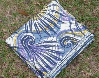 African Wax Cotton Print Fabric - African Fabric - Ankara Fabric - Cornucopia - Fat Quarter