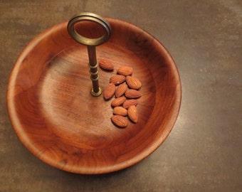 MCM Nut tray- Walnut Vermillion