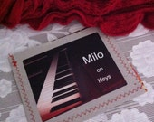 Milo on Keys  - music CD - homemade and recorded by Milo Staley, The Yooper Looper, age 9