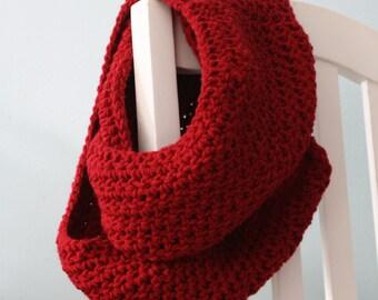 Ravishing Red Infinity Scarf