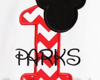 Mickey Mouse Birthday Number Shirt, Minnie Available, Custom Fabrics, Girls Birthday Shirt, Shirt, Tank,Bodysuit ,Gift