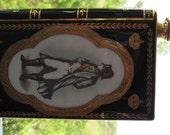 Limoges French Camus Cognac Book Decanter - Napoleon Bicentennial 22K Gold 1969