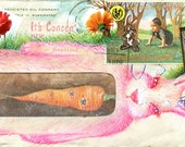 What Rabbit Ate Postcard