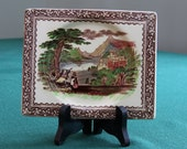 CLEARANCE SALE - Royal Staffordshire The Biarritz - Jenny Lind, C. M. & S. - rectangle plate