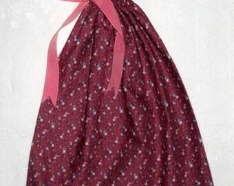 Pink Calico Gift Bag