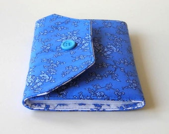 Blue Needle Wallet - Blue Needle Organizer - Sewing Supply - Needlecrafting
