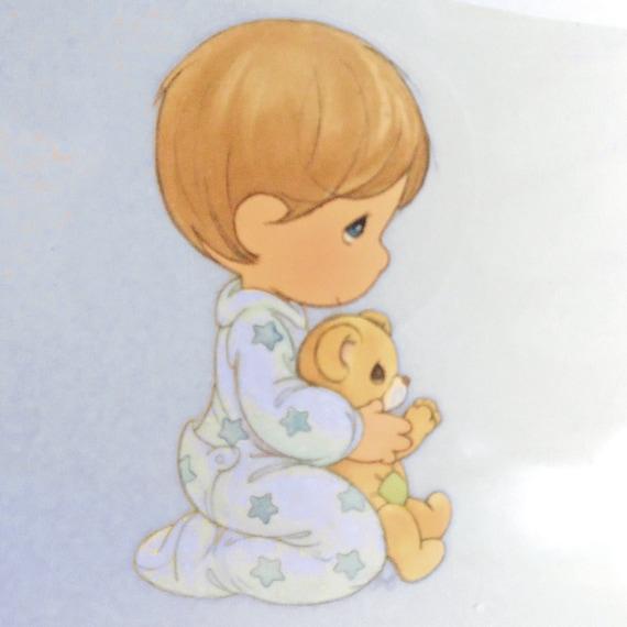 Hierro en aplique / preciosos momentos / niño orando por PinkyRoo