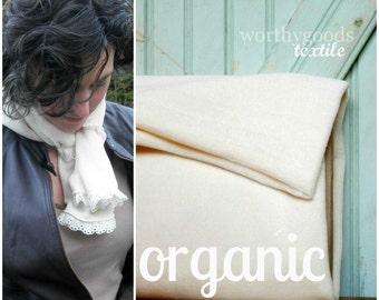 Organic Terry Velour - Half Yard - Eco Friendly Cotton Velveteen Velvet Like Fabric Domestically Made GOTS Certified