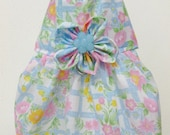 Dog Dress Flowers - XS - Free shipping to USA and PR