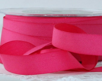"Hot Pink Ribbon, 5/8"" wide Ribbon by the yard, Crafts, Sewing, Trim, Scrapbooking, Gift Wrap, Weddings, Party Supplies"