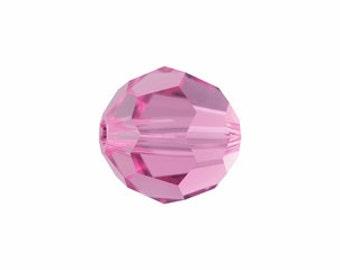 Rose pink Swarovski Crystal rounds 8mm #525