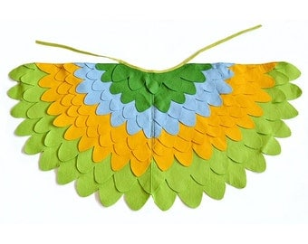 Childrens Bird Costume Wings, Dress up Wings for Kids, Girls and Boys, Toddlers