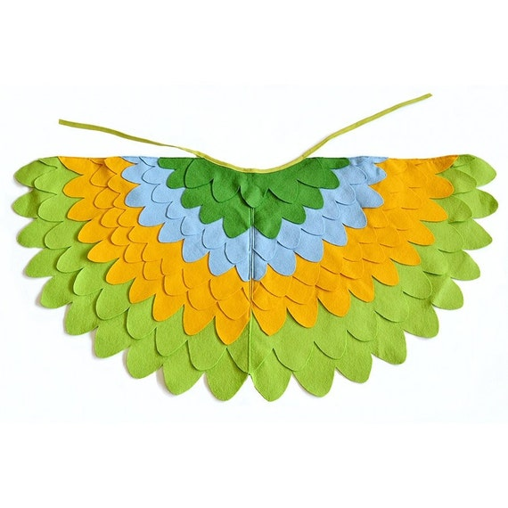 Childrens Bird Costume Wings Dress up Wings for Kids Girls