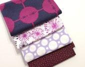 DESTASH - Purple Fabric Remnant bundle
