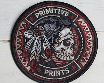 """Tribal Nations - 3.5"""" Embroidered Patch"""