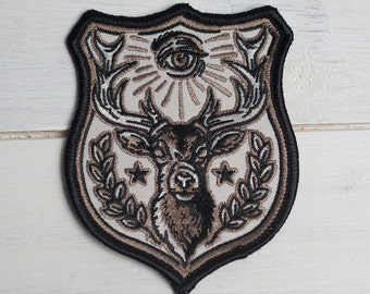 """STAG FORCE- 3.5"""" Embroidered Patch"""