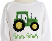 Tractor Applique - 4 sizes