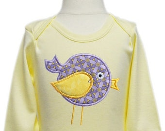 Spring Bird Applique