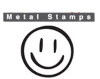 SMILEY FACE Metal STAMP 3mm 1/8 inch by ImpressArt Square Shank Steel Punch for Hand Stamped Jewellery Making Happy Face Design