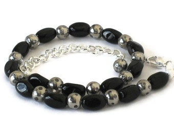 Black Anklet, Gifts for Women Wife Mom Sister Daughter Grandma Under 25, Mothers Day, Birthday Christmas Gifts