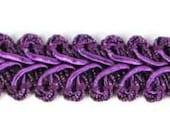 """E1901 Purple Gimp Sewing Upholstery Trim 1/2"""" (E1901-PR)"""