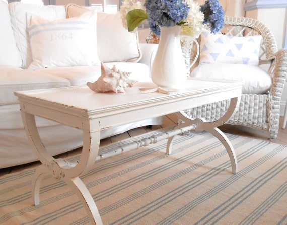 Coffee table shabby chic furniture white - White shabby chic furniture ...