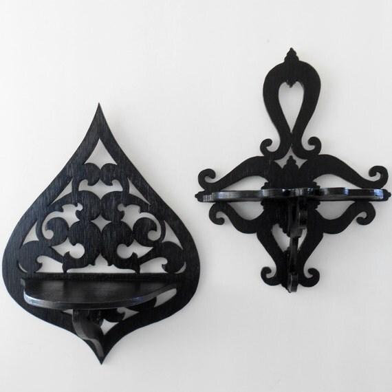 Gothic Home Decor Wall Shelf Sconce Decorative Shelf