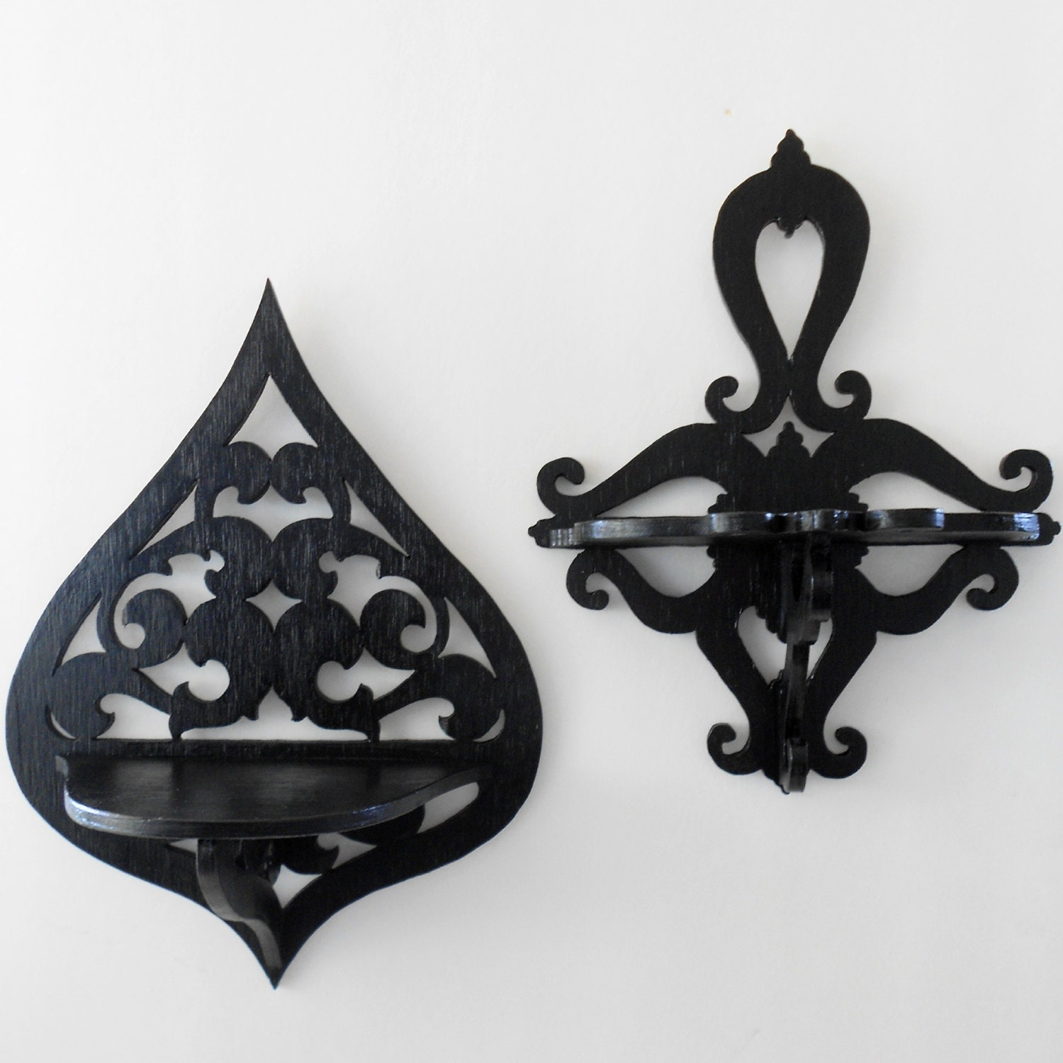 Wall Sconces Shelf : Gothic Home Decor Wall Shelf Sconce Decorative Shelf