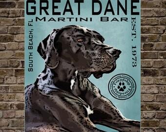 Great Dane Martini Bar