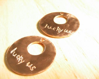 Custom Engraved Metal Tag or Medallion: Buyer Chooses Metal