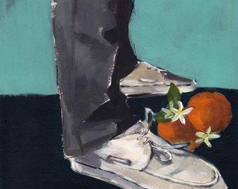 Boat Shoes . giclee art print
