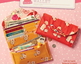 Have it All Wallet Pattern by Straight Stitch Society