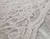 Heirloom Wedding Chuppah Canopy (scallop lace)