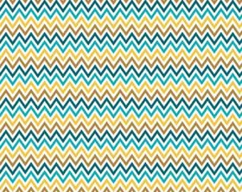 Indie Chic Zig Zag Multi by My Minds Eye Riley Blake Designs, 1/2 yard