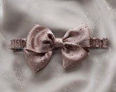 Silk Bow Bridal Garter