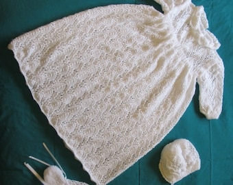 Hush A Bye Baby Christening Gown PDF Pattern