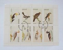 1972 Bird Stamps Eynfallow Orkney Islands Scotland